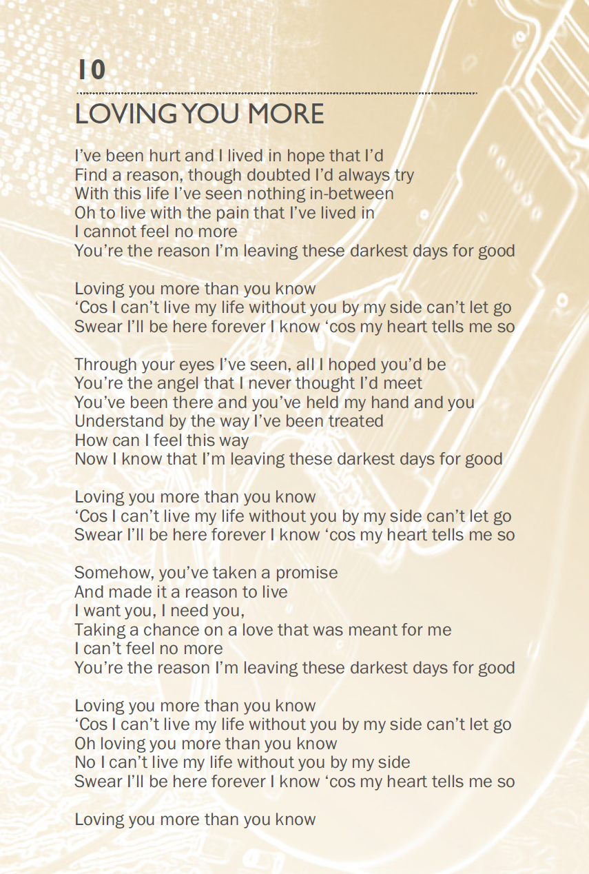 the love of your life lyrics