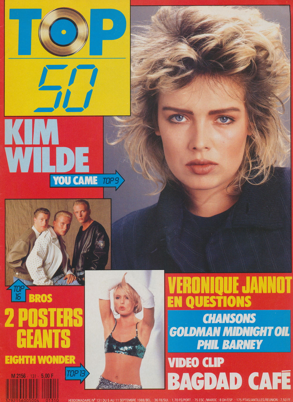 Top 50 Most Beautiful Teen Actresses List: A Blonde At The Top: Kim Wilde