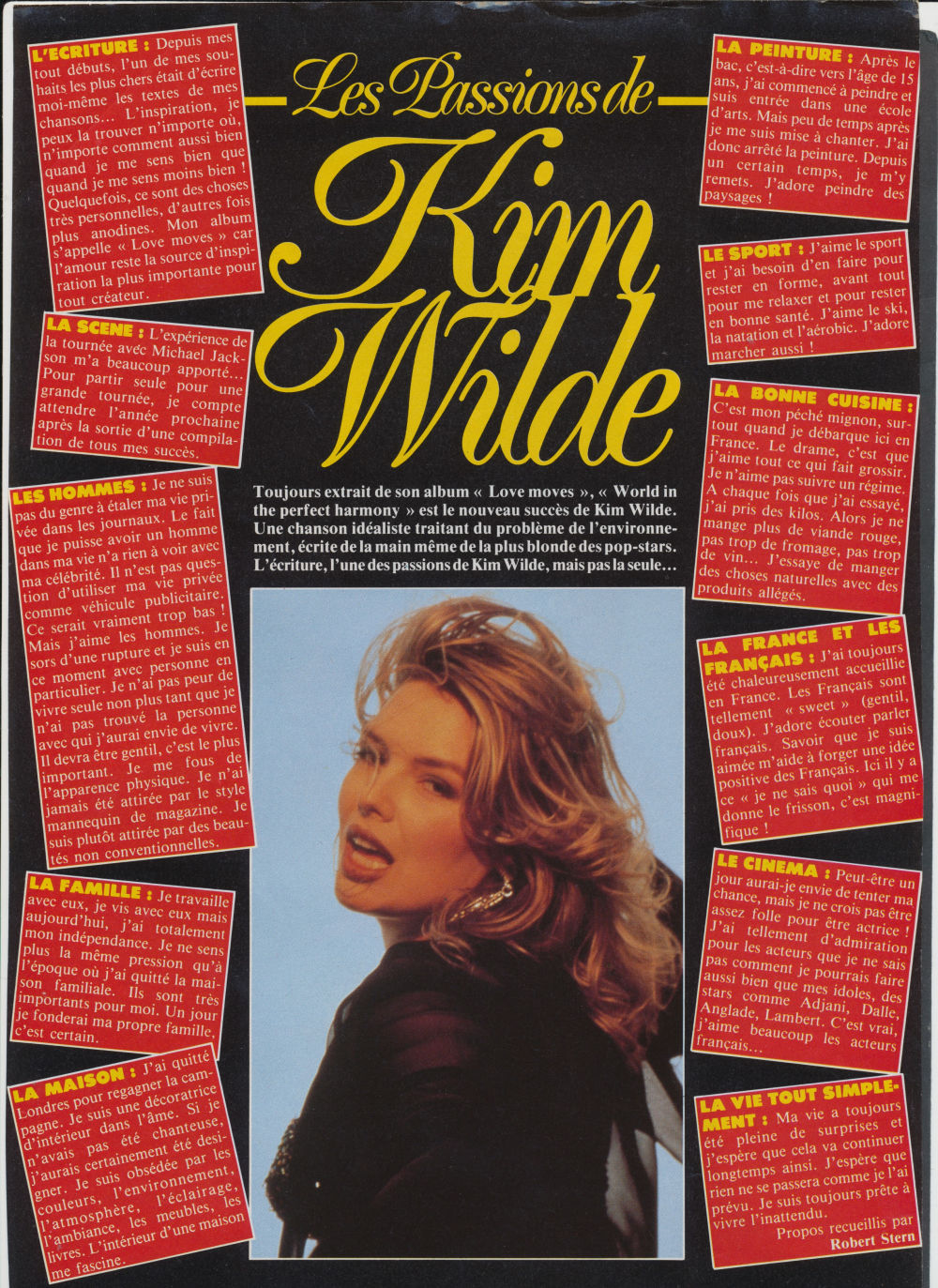 Comment Faire Pour Me Relaxer the passions of kim wilde | wilde life