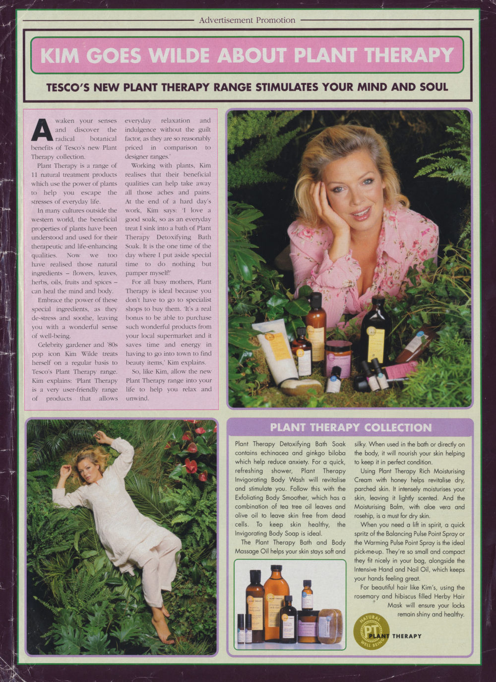 kim goes wilde about plant therapy tesco 39 s new plant. Black Bedroom Furniture Sets. Home Design Ideas