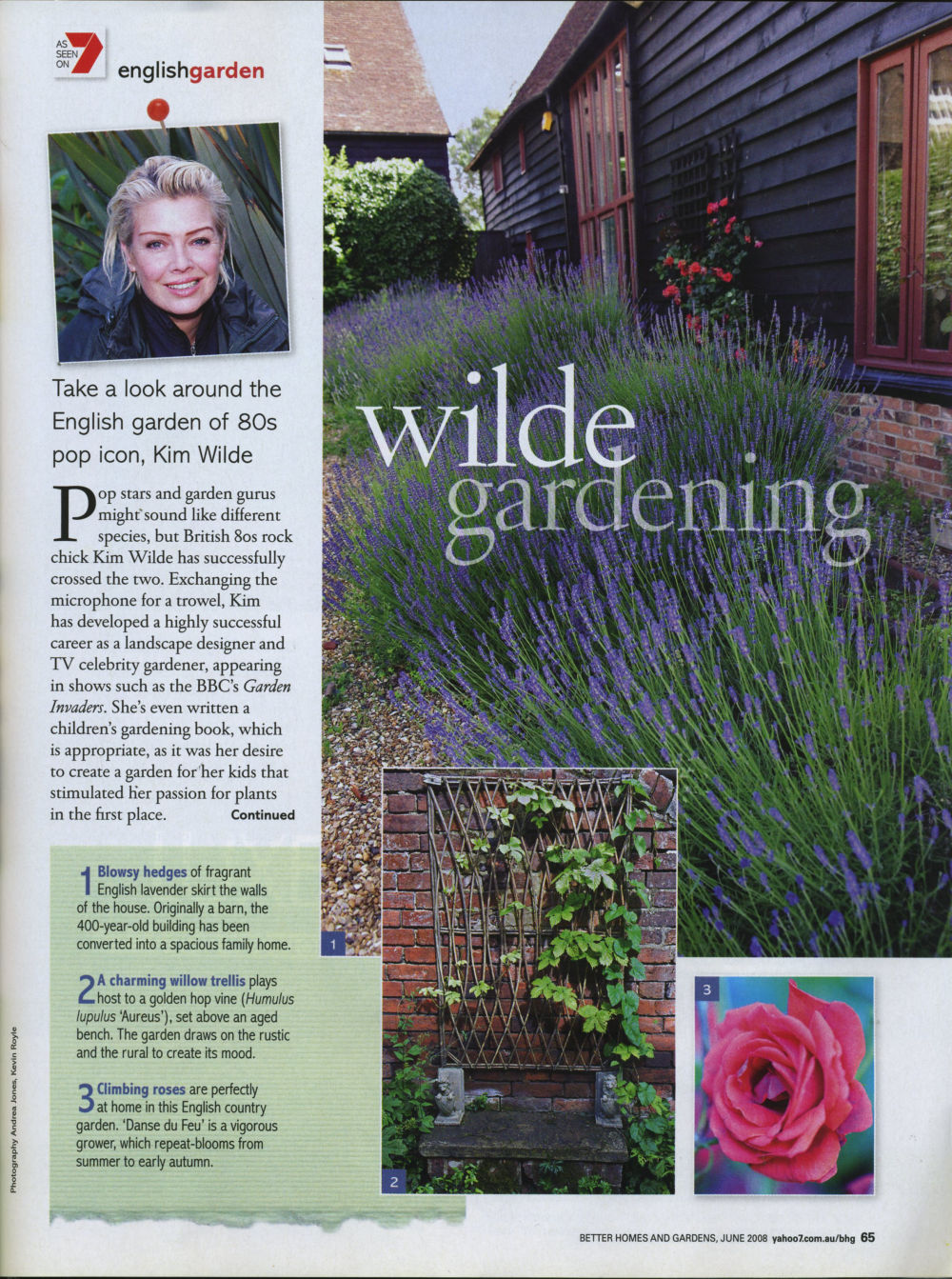 better homes and gardens uk june 2008 - Wilde Garden