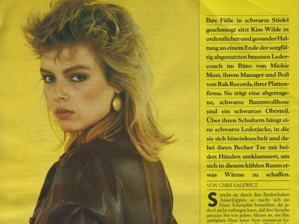 Sounds (Germany), March 1982