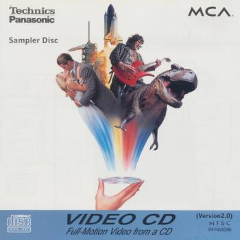 Video CD sleeve