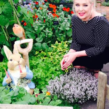 Hi everyone. Had such a lovely week at the Chelsea Flower show this week. My mate Richard Lucas won another Gold Medal for his Peter Rabbit Garden too! How cute is this! Get your requests in to me and you could win tickets to the Hampton Court Palace Flower Show in July. Kim. X