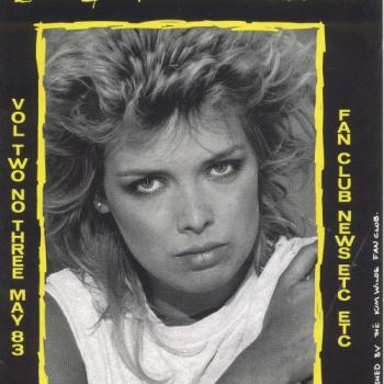 Kim Wilde Fanclub News Volume 2 Number 3