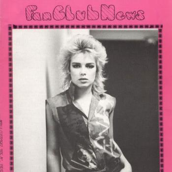 Kim Wilde Fanclub News Volume 3 Number 3