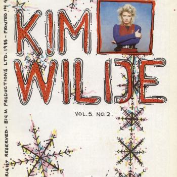 Kim Wilde Fanclub News Volume 5 Number 2
