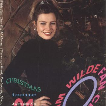 Kim Wilde Fanclub magazine Christmas 1991
