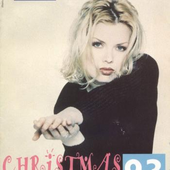 Kim Wilde Fanclub magazine Christmas 1993