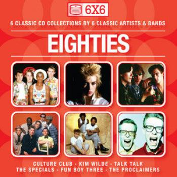 'Eighties: 6x6' front cover