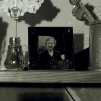 Beryl Askew in the music video for 'Song For Beryl'