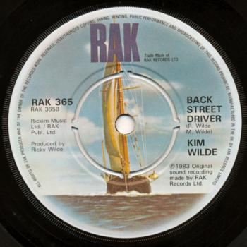 'Back Street Driver' label