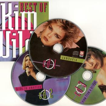 'Best of Kim Wilde' sleeve and discs