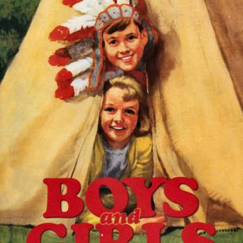 'Boys and girls: A Ladybird book of childhood' book cover