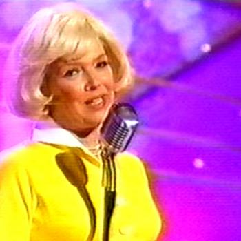 Kim as Doris Day