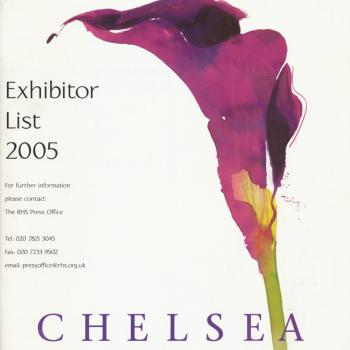 Chelsea RHS Flower Show 2005: Exhibitor List 2005