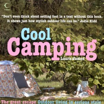 'Cool camping' book cover