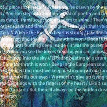 'European soul' lyrics; Graphic art by Marcel Rijs, May 2013
