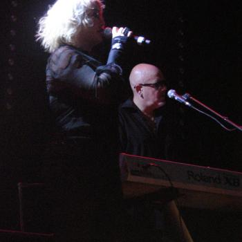 Kim and Ricky Wilde performing 'Forever young' live at Metropool, Hengelo (Netherlands), June 18, 2011