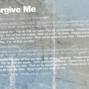 Lyrics of 'Forgive me' in the cd booklet of 'Never say never'