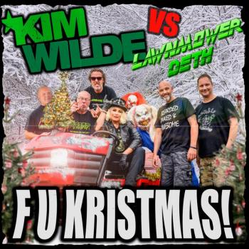 'F U Kristmas' single sleeve