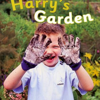 'Harry's Garden' book cover