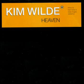 "Promotional 12"" single for 'Heaven'"