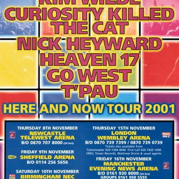 Flyer for the tour