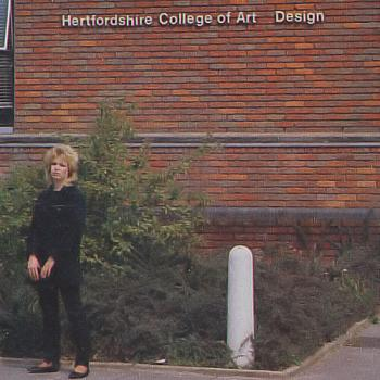 Kim Wilde at the Hertfordshire College of Art & Design