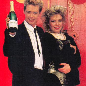 Nick Heyward and Kim Wilde in 1984