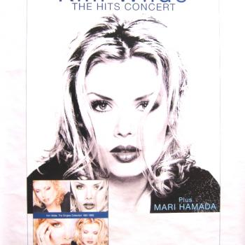 Poster for the concert in Utrecht as part of the Hits Tour