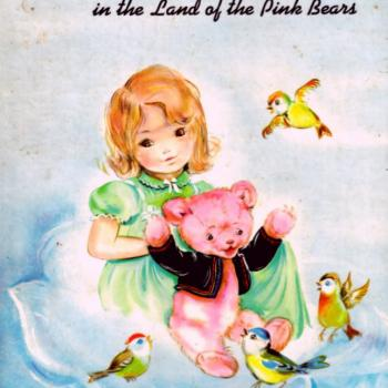 'Isobel and the land of the pink bears' book cover