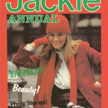 'Jackie Annual 1983' book cover