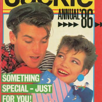 'Jackie Annual 1986' book cover
