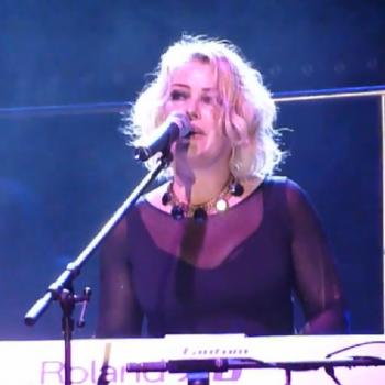 Kim performing 'Jessica' at Rosengarten in Mannheim (Germany), February 25, 2011