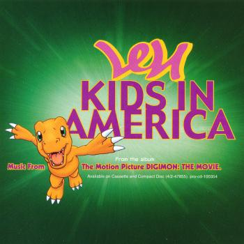 'Kids in America' by Len, promotional cd-single sleeve