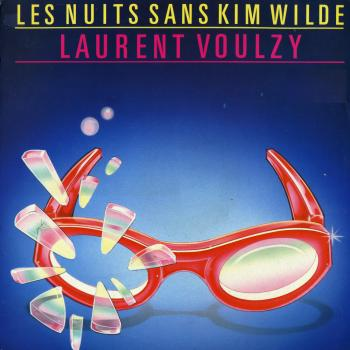 'Les nuits sans Kim Wilde' single sleeve