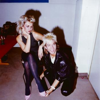 Kim Wilde and Limahl in 1983