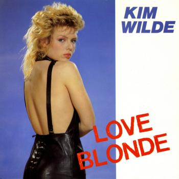 'Love blonde' single sleeve