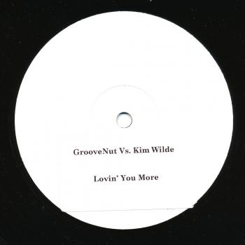 "Label for the promotional 12"" of 'Love you more'"