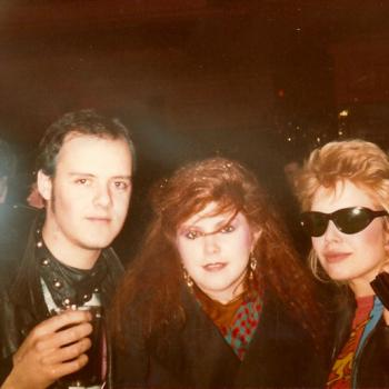Kim, Ricky and Kirsty in 1982