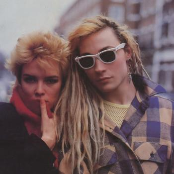 Kim Wilde and Marilyn in 1983