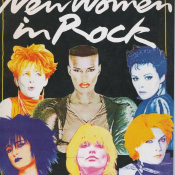 'New women in rock' book cover