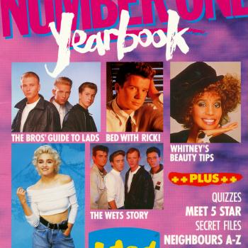'Number One Yearbook 1989' book cover