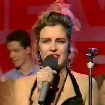 Kim Wilde performing 'Oh mister songwriter' on TV in 1991