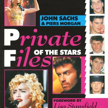 'Private files of the stars' book cover