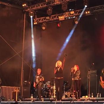 Kim Wilde performing 'Ready to Go' at Fox Festival, Morkov (Denmark), 27 May 2017
