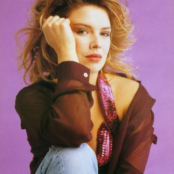 Kim Wilde photograph by Sheila Rock, 1990