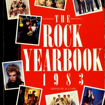 'Rock Yearbook 1983' book cover