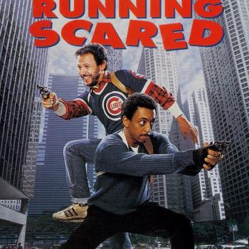 'Running scared' movie poster